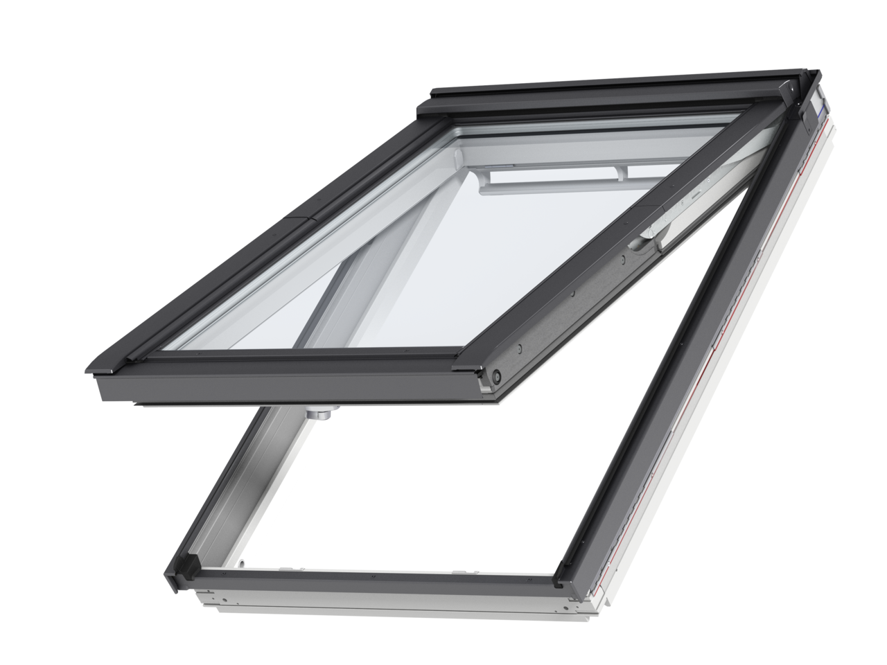 Velux White Painted Top Hung Roof Window Gpl